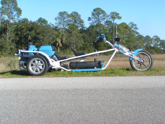 Blue Lightning - A VW Trike