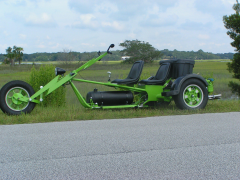 Green Lightning - A VW Trike